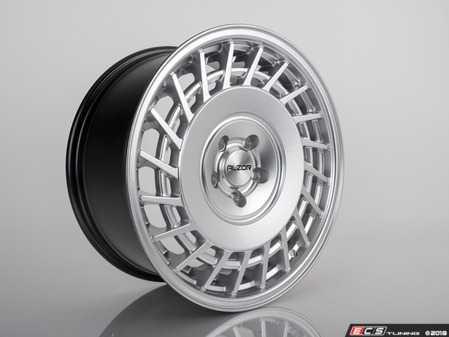 "ES#3646951 - 1365KT1 - 18"" Style 1365 Directional Wheels - Set Of Four - 18""x8.5"", et45, 5x112 - Hyper Silver Finish - Alzor - Audi Volkswagen"