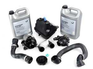 ES#3170920 - 11517588885KT3 - ECS Cooling System Refresh Kit - Level 1  - An entry level cooling refresh kit - with high quality aftermarket components - Assembled By ECS - BMW