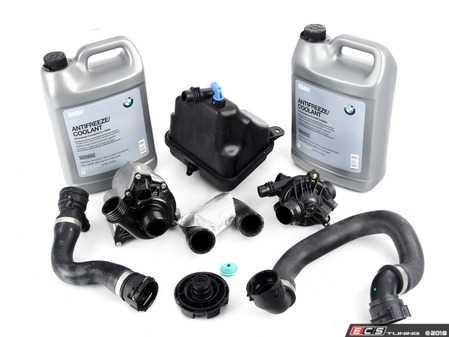 ES#3170920 - 11517588885KT3 - ECS Cooling System Refresh Kit - Level 1  - An entry level cooling refresh kit - with high quality aftermarket components - Assembled By ECS - BMW