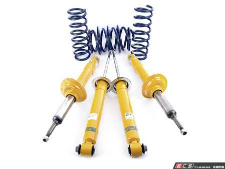 """ES#3640212 - E39M5-DINBILKT - Dinan/Bilstein Sport Cup Kit - Offering 1/4"""" drop and significantly better handling and control - a setup you'll love to drive every day. - Assembled By ECS - BMW"""