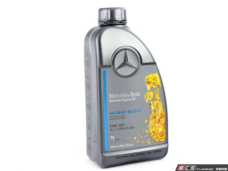 Genuine Mercedes Benz - 0009898301USB6KT - Engine Oil ...