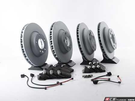 ES#3184541 - 7L6698302Kkt33 - Front & Rear Premium Brake Service Kit - Featuring Zimmermann rotors and Pagid brake pads - Assembled By ECS - Audi