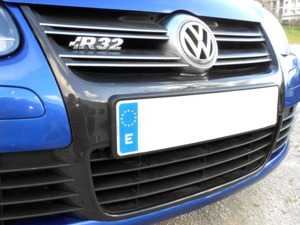 ES#3613209 - R32FGrille - Carbon Fiber Grille Frame - Add a splash of carbon fiber to your R32's front end - Karbonius Composites - Volkswagen