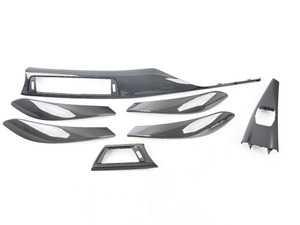 ES#3624674 - f80km001KT - Carbon fiber trim kit - Includes dash and door trim for a complete interior makeover! - Karbonius Composites - BMW