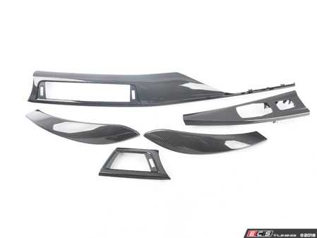 ES#3624676 - f82km001KT - Carbon Fiber Trim Kit - Includes dash and door trim for a complete interior makeover! - Karbonius Composites - BMW