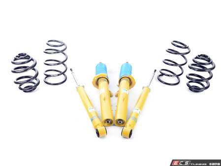 ES#2983742 - 46-181275 - B12 Pro-Kit Suspension System - Expertly matched performance Eibach Pro-line lowering springs and Bilstein shock/strut package for a dramatic increase in performance handling. World-famous Bilstein quality with a limited lifetime warranty! - Bilstein - BMW