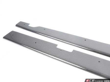 ES#3469638 - E92S008 - Carbon fiber Side skirt extensions  - Add an aggressive look to your side skirts with carbon fiber extensions - Karbonius Composites - BMW