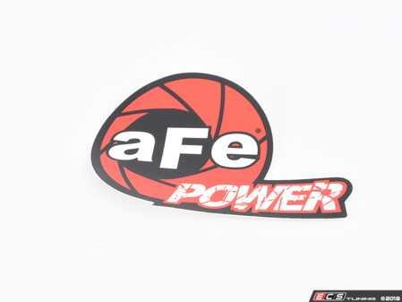 """ES#3493141 - 40-10189 - AFe Power Marketing Promotional - Decal Contingency Sticker (aFe): 2"""" x 4.667"""" - AFE -"""