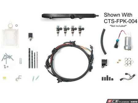 ES#3659994 - CTS-FPK-0051300c - EA888 Gen3 Port Injection Kit - Without Fuel Pump Kit - This is the complete port injection (MPI) fueling kit for MQB vehicles - Get the most out of your big-turbo MQB setup! (With 1300cc injectors) - CTS - Audi Volkswagen