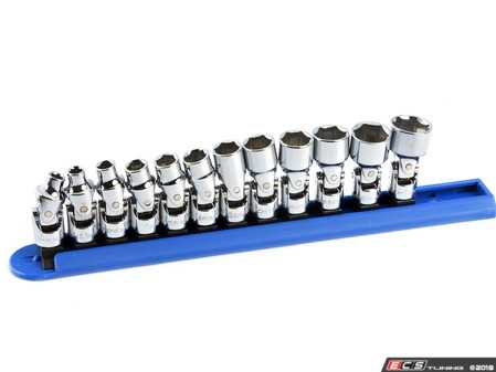 "ES#2934905 - KDT80311 - 12PC 1/4"" Drive 6pt metric flex Socket Set - Reach fasteners from a variety of angles - Gear Wrench - Audi BMW Volkswagen Mercedes Benz MINI Porsche"