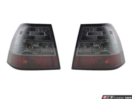 ES#3647635 - FKRLXLVW010003 - Sedan LED Tail Light Set - Smoked - Plug and play aftermarket LED tail lights with smoked lenses - FK - Volkswagen