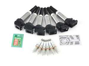 ES#3646942 - 12137594937cdKT - Performance Ignition Service Kit - Everything you need to service your ignition system, featuring one step colder plugs. - Assembled By ECS - BMW