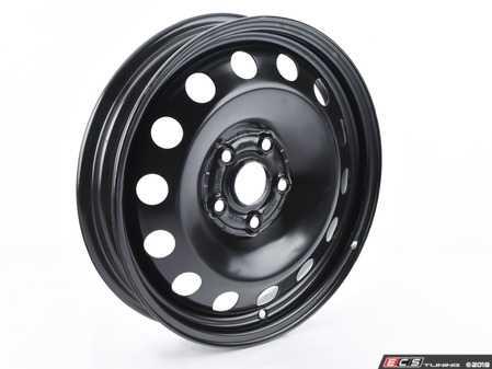"""ES#2831377 - 5C0601027C03C - 16"""" Spare Wheel - Steel - Steel wheel for emergencies - Genuine Volkswagen Audi - Volkswagen"""