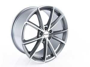 "ES#3690745 - 654-3KT - 19"" Style 654 - Set Of Four - 19""x8.5"" ET42 5x112 - Gunmetal/Machine Face - Alzor - Audi Volkswagen"