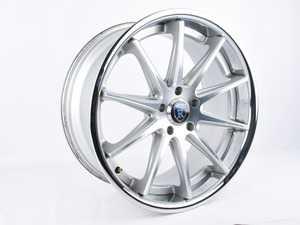 "ES#3647707 - C1019855112MS2sd - 19"" RC10 Wheel (Single Wheel) - *Scratch And Dent* - *Please see description prior to ordering* RC10 19x8.5 5x112 25ET Machine Silver/Chrome Lip - Rohana Wheels - Audi"