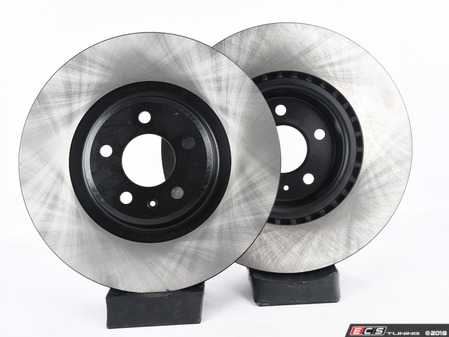 ES#3537765 - 025997ECS0630KT -  Front V4 Brake Rotors - Pair (345x30) - Precision manufactured and featuring an electrostatic rust-inhibiting coating - ECS - Audi