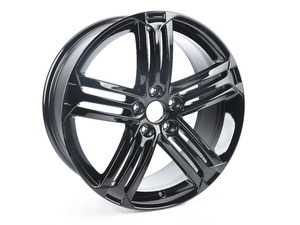 "ES#1913181 - 5K0601025MAX1 - 19"" Talladega - Priced Each  - 19""x8"" ET50 5x112 - Gloss Black - Genuine European Volkswagen Audi - Volkswagen"
