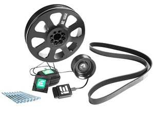 ES#4351842 - ieppcgj2 - Integrated Engineering 3.0T Dual Pulley Power Kit - Turn your Audi B8 S4 or S5 into an all-out street monster with IE's complete Dual Pulley kit! - Integrated Engineering - Audi