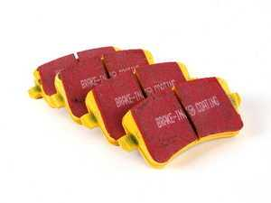 ES#2070875 - DP41988R - Rear YellowStuff Performance Brake Pad Set - Race quailty pad that can be used at the track and get you back home. - EBC - Audi