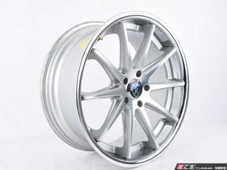 "ES#3647871 - C1019855112Msd - 19"" RC10 Wheel (Single Wheel) - *Scratch And Dent* - *Please see description prior to ordering* 19""x8.5"", ET25, CB66.6, 5x112 - Machine Silver - Rohana Wheels - Audi"
