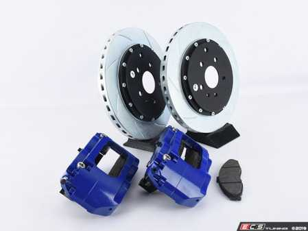 ES#3647853 - HVA209BLUEMK7sd - HPA Front Big Brake Kit - Slotted Rotors (355x32mm) - With Blue Calipers - *Scratch And Dent* - *Please see description prior to ordering* Designed in conjunction with Baer and proudly made in the USA. - HPA Motorsports - Volkswagen