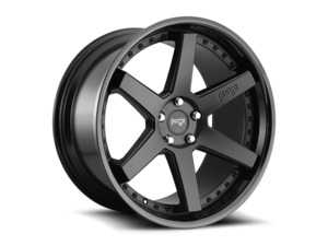 "ES#3659130 - m19218854342KT - 18"" Altair - Set Of Four - 18x8.5 ET42 5x112 - Satin Black/Gloss Black - Niche Wheels - Audi Volkswagen"