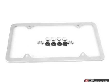 ES#130980 - 51800408490 - MINI Slim Line License Plate Frame - Priced Each - Add the slim look - Genuine MINI - MINI
