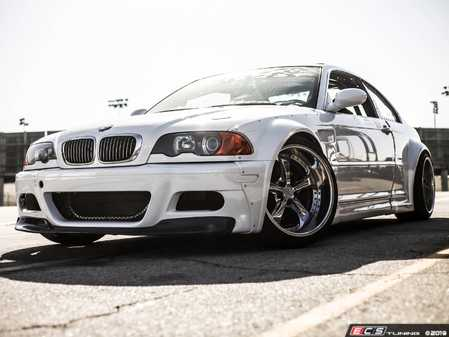 ES#3659339 - E46-BASEKIT - BMW E46 Coupe Base Kit - Everything you need to Widebody your E46, minus spoiler and front lip. - StreetFighter LA - BMW