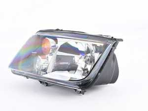 ES#3659160 - 963660491sd12 - Smoked GLI Headlight - Left - *Scratch And Dent* - *Please see description prior to ordering* With fog light, and orange turn signal lens - Hella - Volkswagen