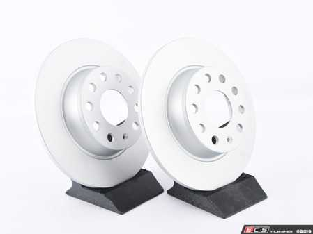 ES#3621950 - 1k0615601aaKT10 -  Rear Brake Rotors - Pair (272x10) - Replace your worn rotors and stop with confidence. - Bosch - Audi Volkswagen