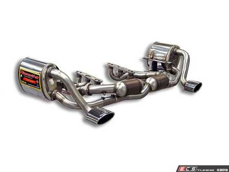 ES#3659395 - 997fullKT - 2005-2008 997.1 Complete Performance Exhaust System - Featuring Performance Manifolds, High Flow Catalytic Converters, and Race Mufflers - Supersprint - Porsche