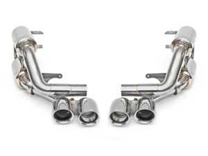 ES#3626951 - FSPOR991SCUP38B - Supercup Exhaust System - Satin Black Quad Tips - Loud and aggressive performance exhaust recommended for track use or for maximum sound on the street - Fabspeed - Porsche