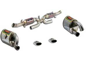 ES#3659489 - 993SSKT - 993 Performance Exhaust System - Sport Mufflers - High Flow Catalytic Converters, Race Mufflers, and Polished Tips - Supersprint - Porsche