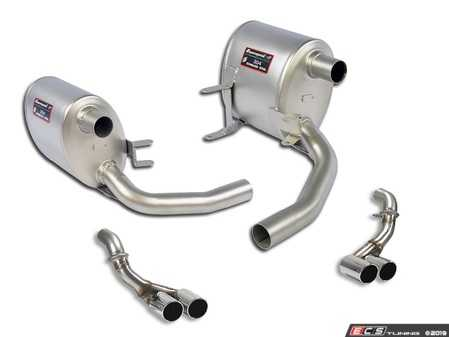 ES#3659506 - 997SSCATBKT3 - 2005-2008 997.1 Performance Cat-Back System - Sport - Hand Made in Italy - Quality fitment along with improve sound, and performance for your 997 - Supersprint - Porsche