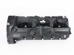 ES#3521849 - 11127552281kt2 - Valve Cover Kit - Includes new cover with built in PCV, hardware, spark plug sleeves and valve cover gaskets - Assembled By ECS - BMW