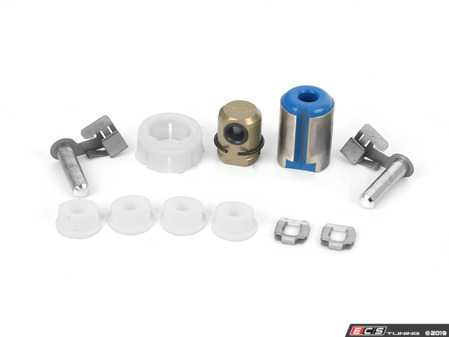 ES#3659109 - 25118614288KT4 - Shifter Rebuild & Upgrade Kit - Overhaul your shifter: featuring ECS Tuning teflon shifter bushings and Turner Shifter Bushing Assembly for a feeling better than new! - Assembled By ECS - BMW
