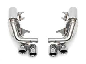 ES#3626937 - FSPOR991MAX38 - Maxflo Performance Side Exhaust System - No Tips - Increase power and save weight with a throatier and deeper exhaust note throughout the RPM range - Fabspeed - Porsche