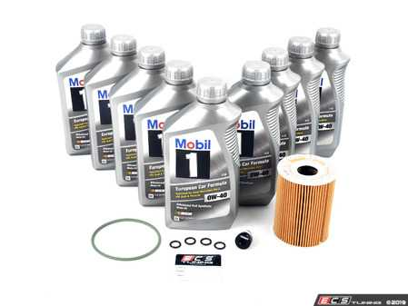ES#2722958 - 94810722200KT6 - ECS Oil Service Kit With Magnetic Drain Plug - Everything you will need to complete an oil change - Assembled By ECS - Porsche