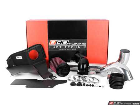"""ES#2981601 - 004527ECS01-06 - Luft-Technik Intake System - With Aluminum Heat Shield & Polished Aluminum Tubes - In House Engineered """"Air Technology"""" for maximum performance and stunning aesthetics - ECS - Audi Volkswagen"""