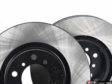 ES#3525064 - E46EFBK-hpskt3 - Performance Front Brake Service Kit - Featuring ECS V4 blank rotors and Hawk HPS pads - Assembled By ECS - BMW