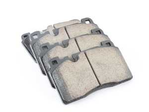 ES#3659544 - EUR1663 - Front Euro Ceramic Brake Pad Set - Offers excellent pedal feedback, low dust, and smooth initial bite. A favorite among enthusiasts. - Akebono - Audi