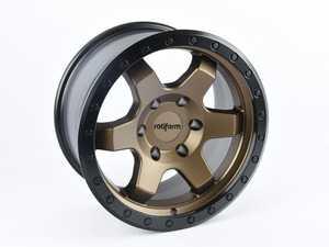 """ES#3659963 - R150179084+01 - 17"""" Rotiform SIX-OR Wheel - Priced Each - 17X9, +1, 6X5.5, BR-BRZ - Rotiform -"""