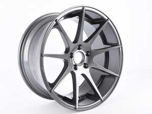"ES#3662156 - 509-1sd12a - 19"" Style 509 - Single Wheel - *Scratch And Dent* - *Please see description prior to ordering* 19""x9.5"" ET40 5x112 - Gunmetal - Alzor - Audi Volkswagen"