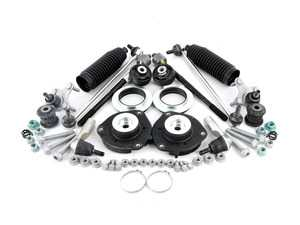 ES#2973161 - 5C0407183AKT2 - Front Suspension Refresh Kit - Stage 2 - Includes tie rod ends, innner tie rods, strut mounts, ball joints, front control arm bushings, sway bar end links and necessary hardware - Genuine Volkswagen Audi - Volkswagen