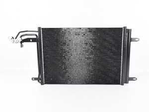 ES#3545303 - 10537 - A/C Condenser - Transfers heat from the refrigerant - CSF - Audi Volkswagen
