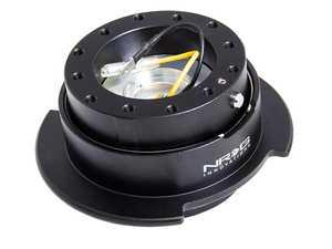 ES#3661758 - SRK-250BK - Quick Release Kit - Black/Black Ring W/ Finger Grooves - NRG -
