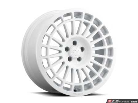 "ES#3660837 - intrw-77551405KT - 17"" Integrale - Set Of Four - 17""x7.5"" ET40 5x112 - Rally White - fifteen52 - Audi Volkswagen"