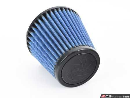 """ES#518474 - 24-33505 - Universal Pro 5R Air Filter - Blue (oiled) - Replacement filter with 3.3125""""inlet, 5""""base, 3.5""""top, and 5""""height - AFE - Volkswagen"""