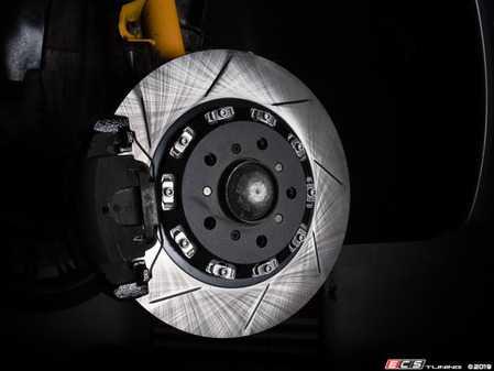 ES#4164902 - 024120tms02aKT - Turner Motorsport Front TrackSport Rotor Set - 345x28mm - Upgrade your BMW's brakes for the ultimate track performance! - Turner Motorsport - BMW