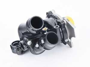 ES#3536895 - 06H121026DD - Water Pump Module - Includes the thermostat, temp sensor, and gasket - Hamburg Tech - Audi Volkswagen